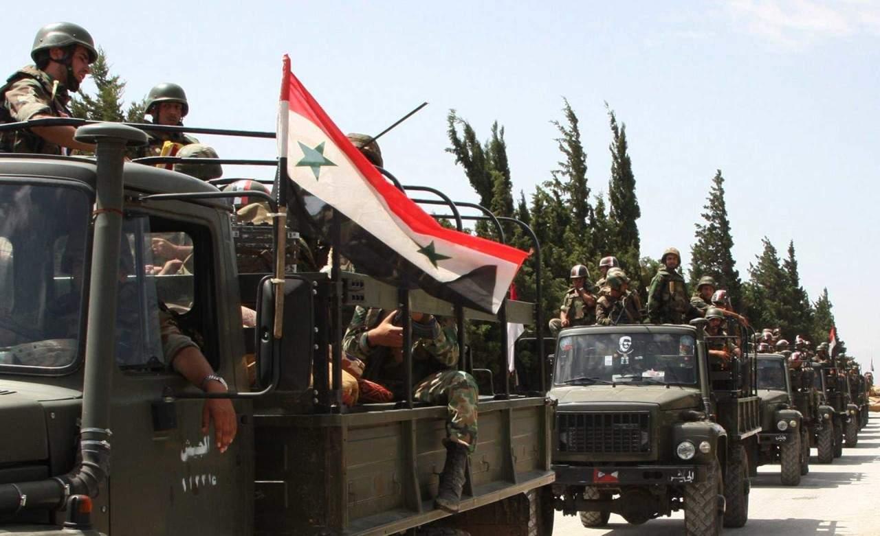 Армия Сирии заканчивает разгром террористов впригороде Дамаска