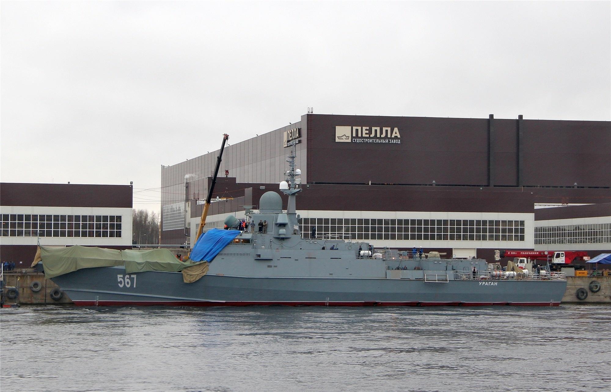 Основанный в северной столице ракетный крейсер готов кходовым испытаниям
