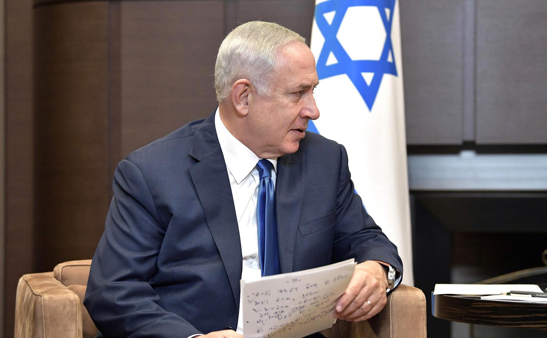 Нетаньяху назвал необычайной встречу сПутиным