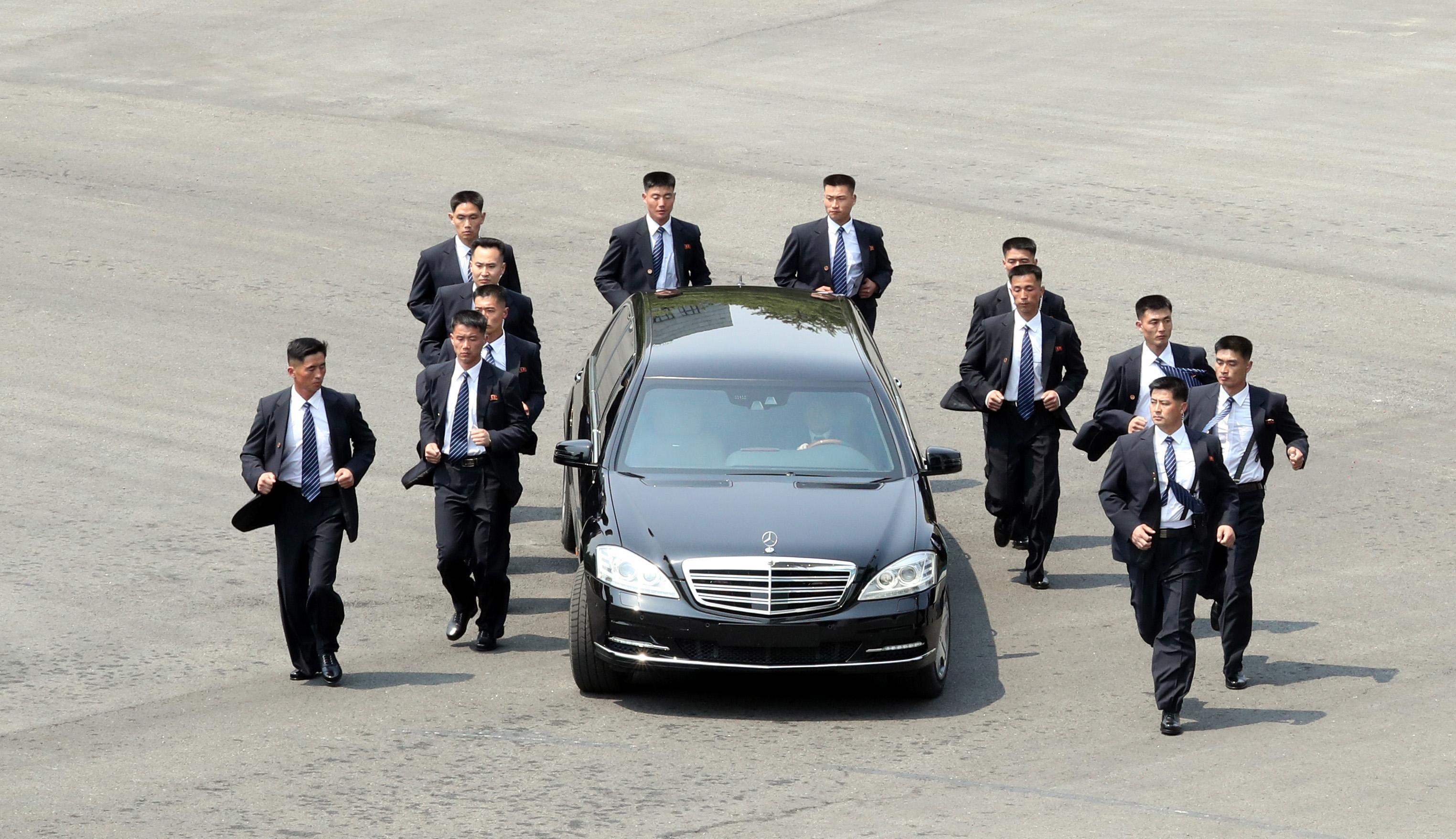 Ким Чен Ынприбыл в КНР стайным визитом