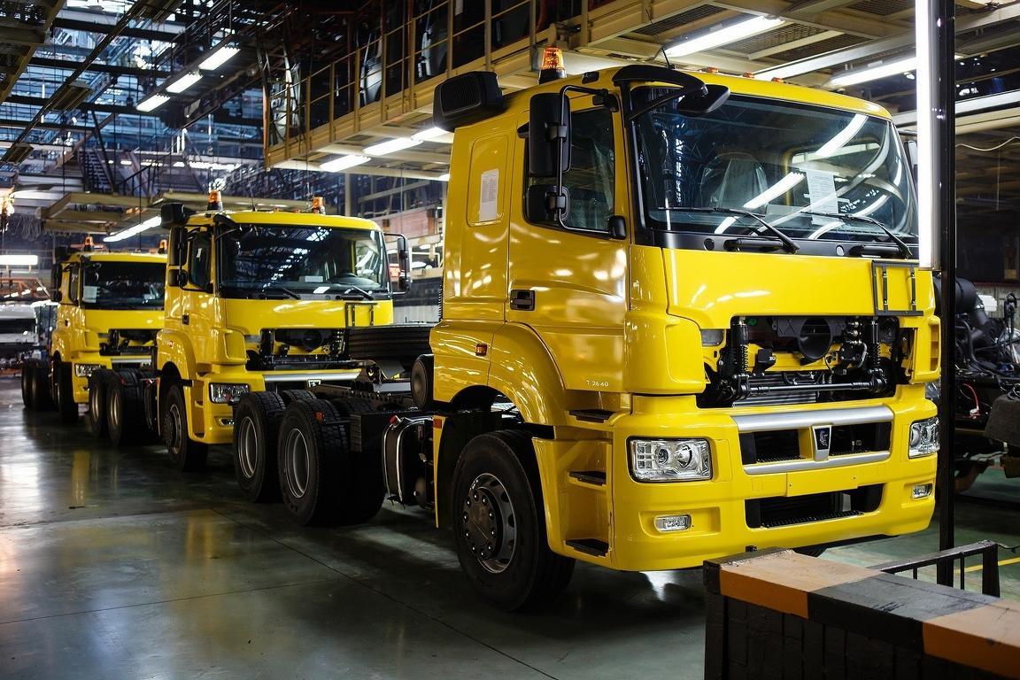 «КамАЗ» в Российской Федерации увеличил производство ксередине весны на8%