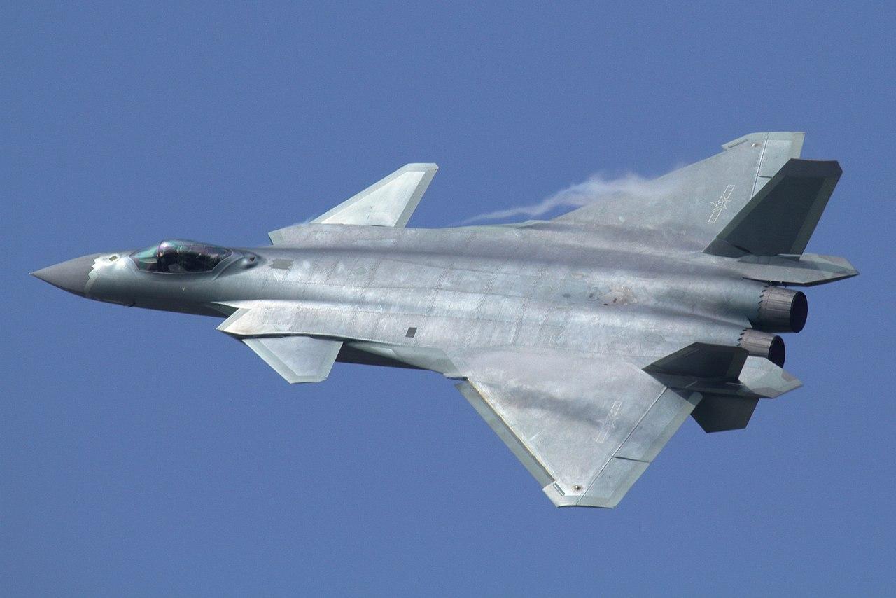 КНР испробовал научениях самый новый истребитель 5-ого поколения