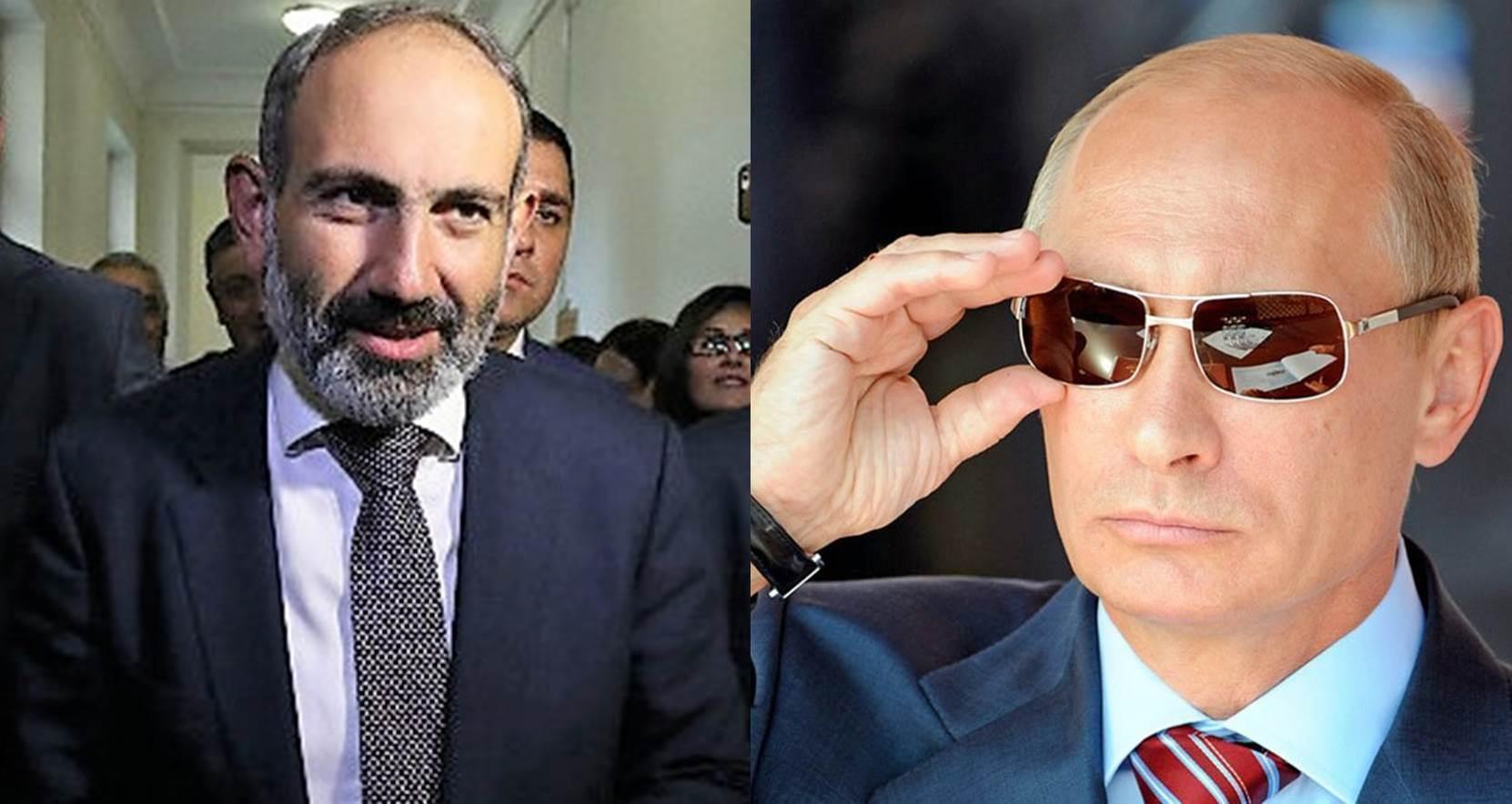 Путин иПашинян вСочи обсудят актуальные вопросы региональной безопасности