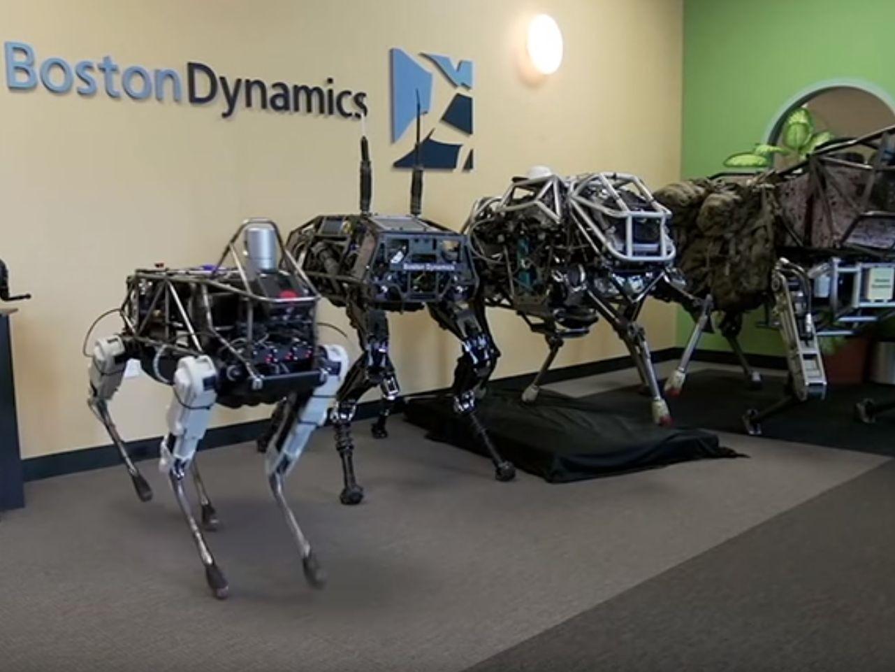 В следующем году в реализацию поступят американские роботы-псы