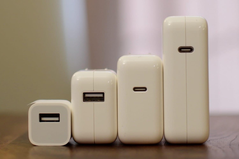 Новые смартфоны iPhone могут получить 18-ваттное зарядное устройство с разъемом USB-C