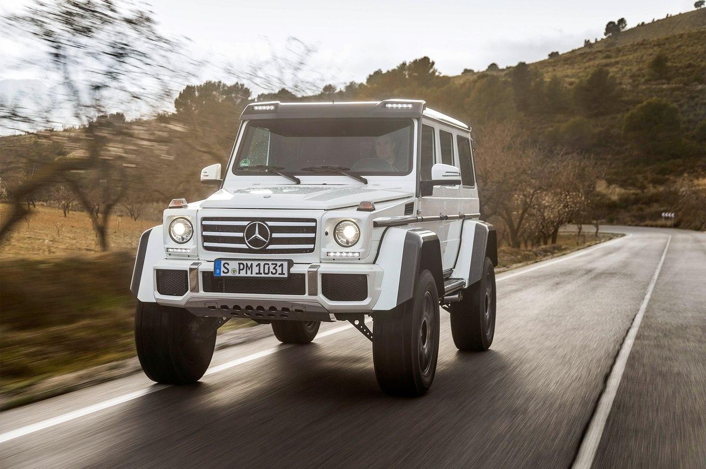 Benz продолжит выпуск «геликов» W461