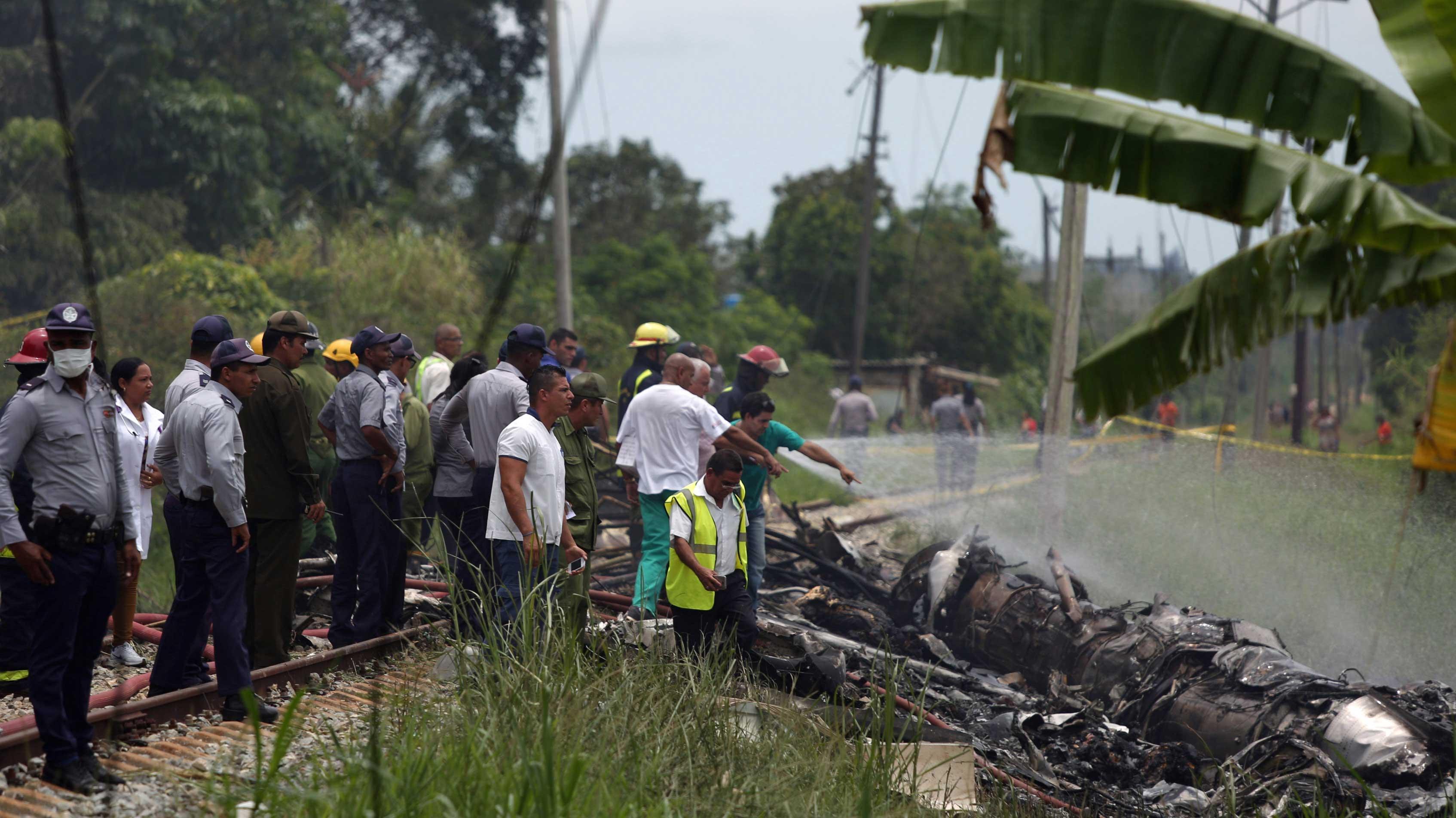 Наместе падения самолета наКубе отыскали «черный ящик»