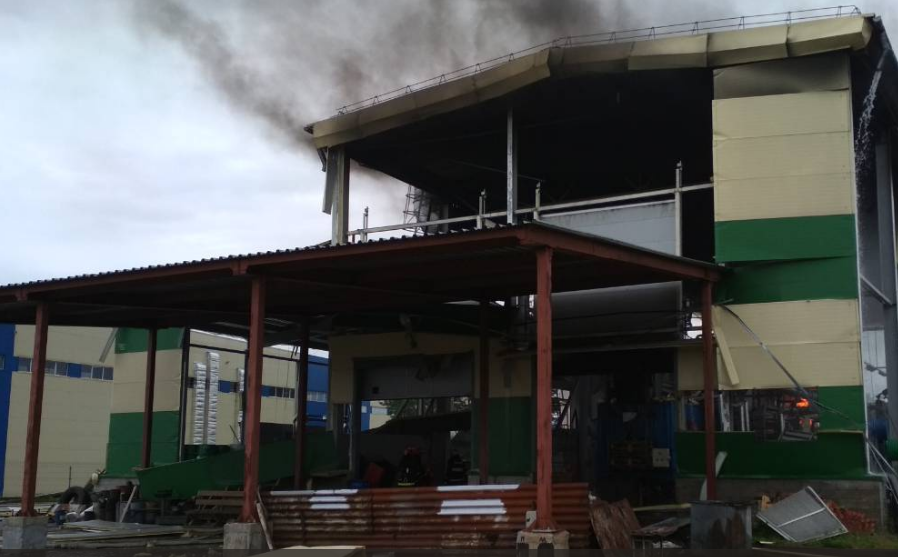 Нахимзаводе «Алкид» в Республики Беларусь произошёл взрыв