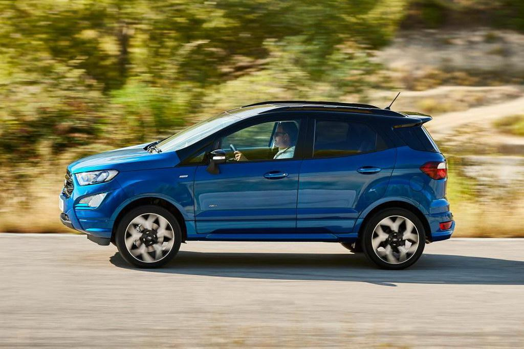 Озвучена рублевая стоимость улучшенного кроссовера Форд Ecosport