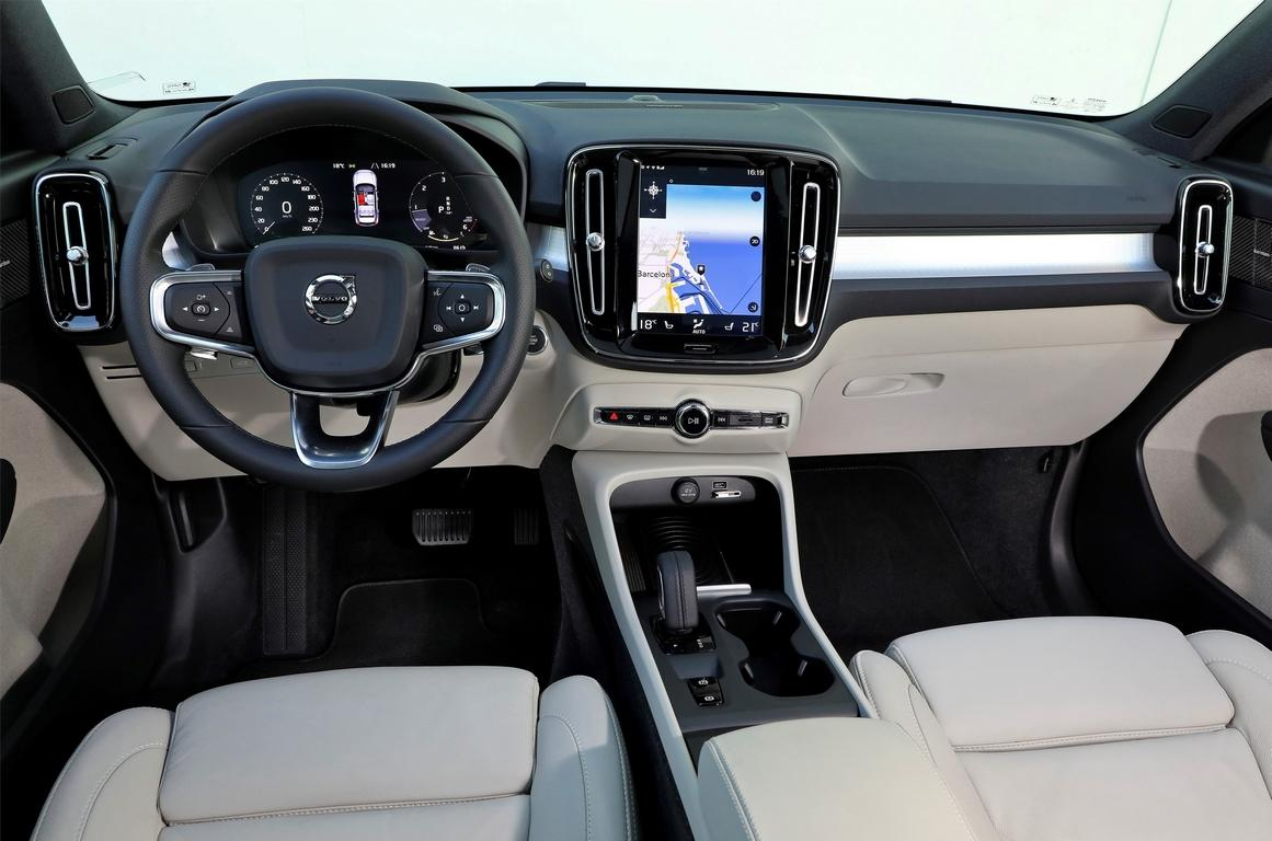 Volvo наращивает производство нового кроссовера Volvo XC40