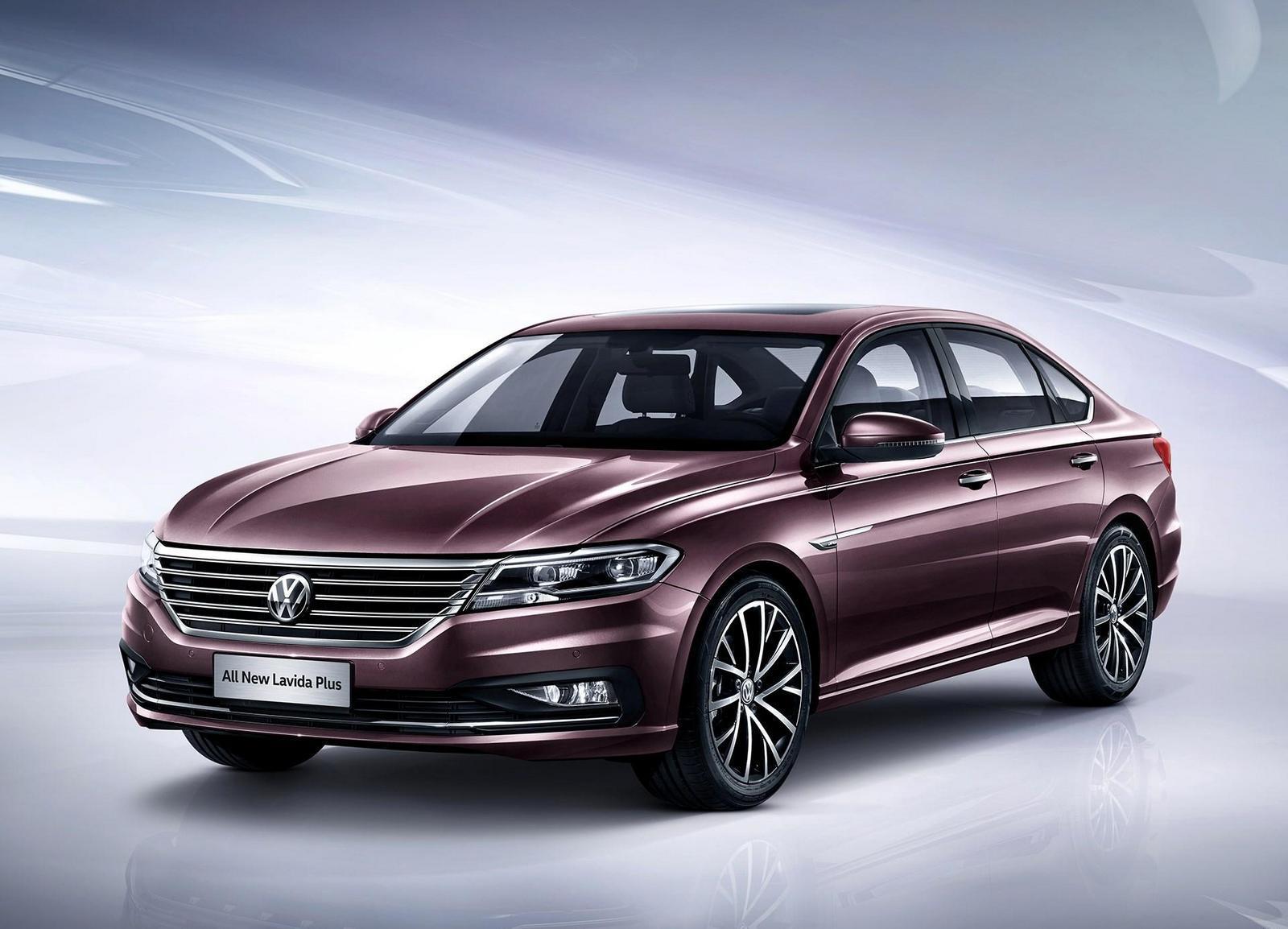 Начались продажи нового седана Фольксваген  Lavida Plus