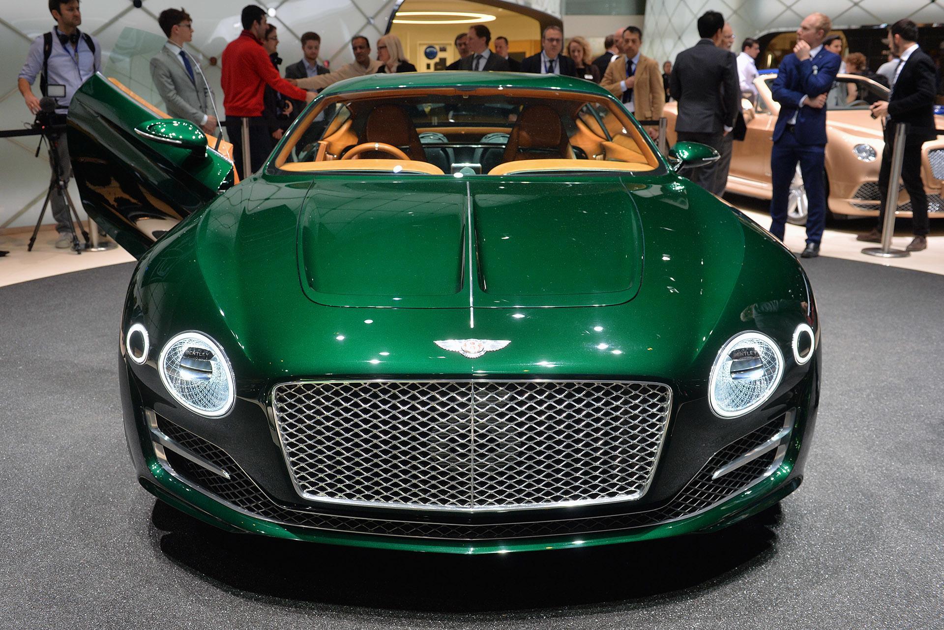 Бентли EXP10 Speed стал самым красивым автомобилем вмире