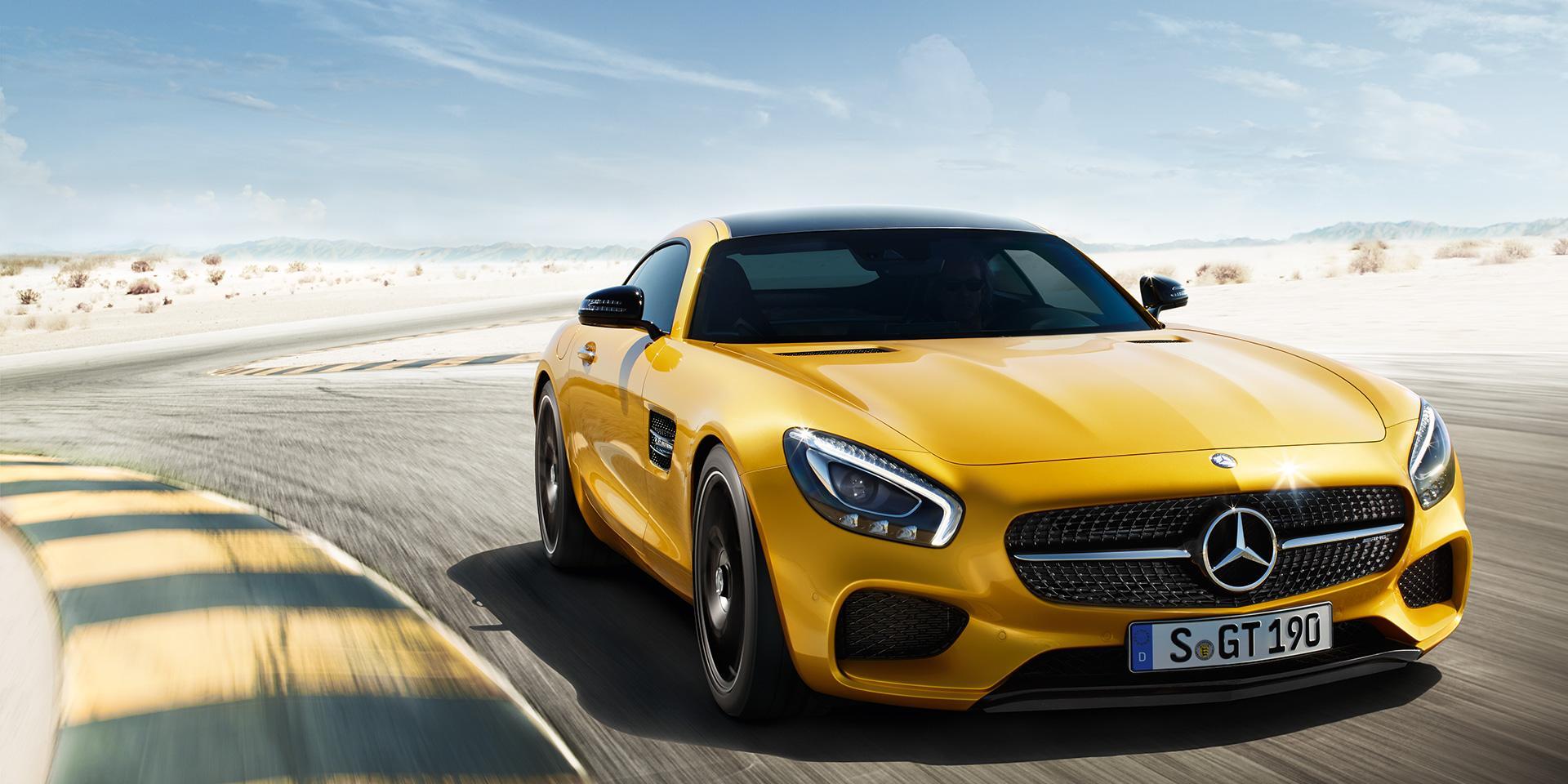 Benz отзывает в России 70 автомобилей Mercedes-AMGGT class=