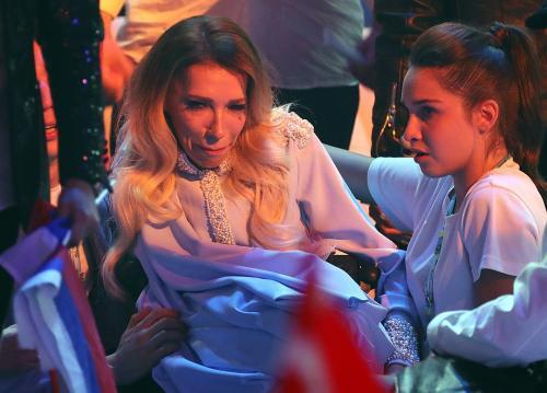 Фотограф заснял слезы Самойловой после провала на