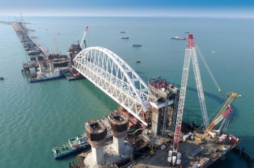 Опубликовано руководство по движению на Крымском мосту с 16 мая