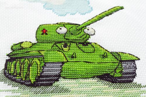 В Харькове создали танк-вышиванку