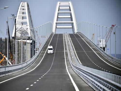 В Украине зрители телеканала назвали Крымский мост «мостом мира»