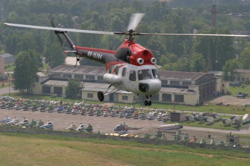 В Забайкалье вертолёт Ми-2 не выходит на связь