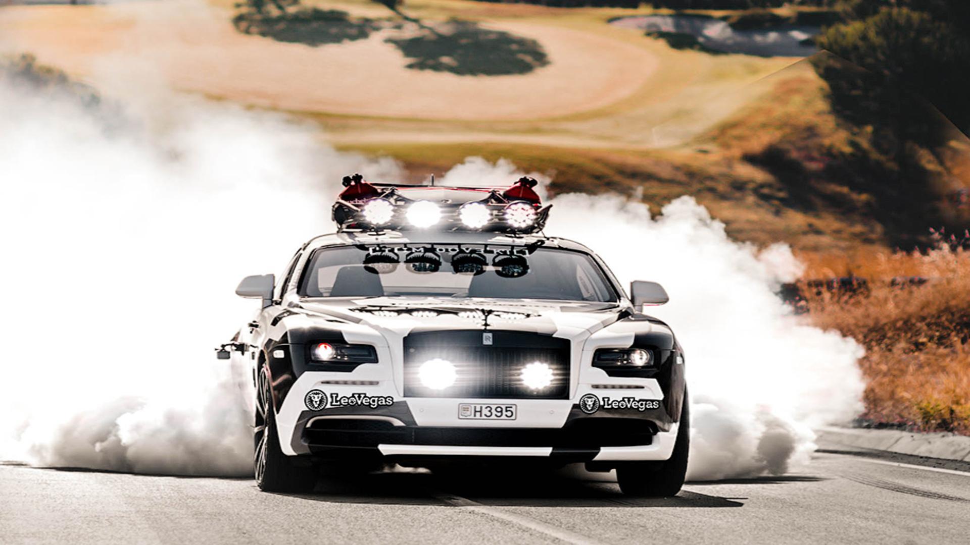 ВНидерландах реализуют необычайное купе Роллс Ройс Wraith
