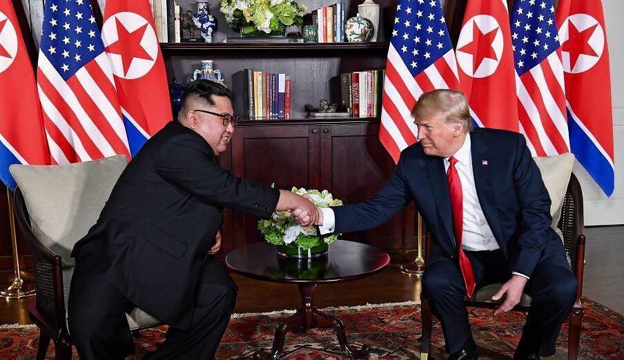 Опубликовано меню рабочего обеда Трампа и Ким Чен Ына