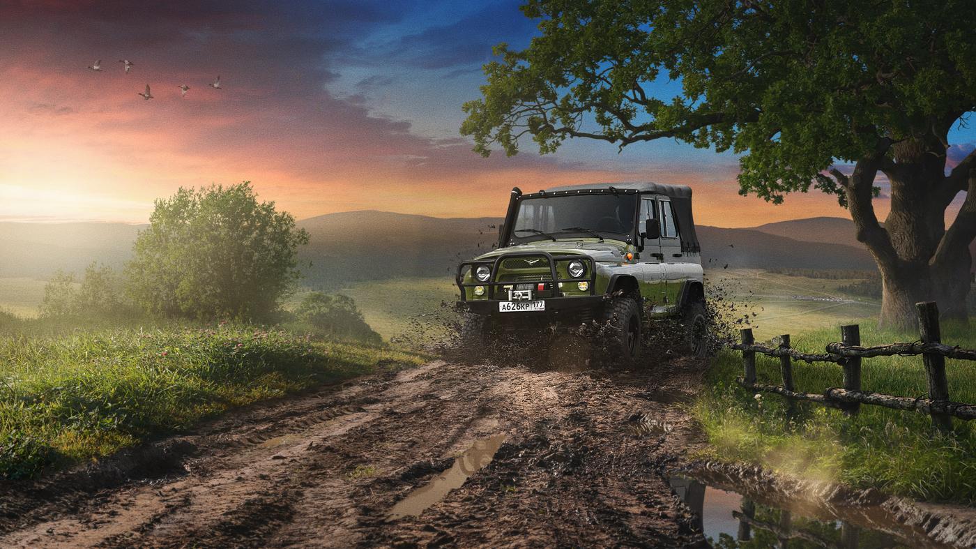Старый «УАЗ-469» продали наамериканском аукционе за млн
