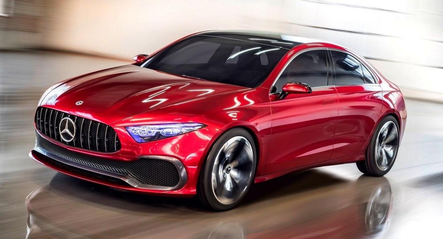 Вweb-сети появилась информация оевропейской версии седана Mercedes A-Class