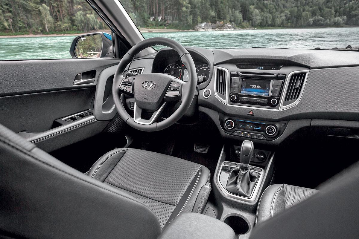 Hyundai Creta лидирует нарынке SUV вгородах-миллионниках России