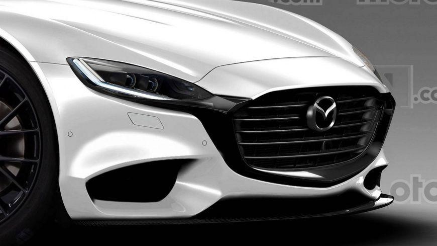 Дизайнеры показали, как может выглядеть спорткупе Мазда RX-9