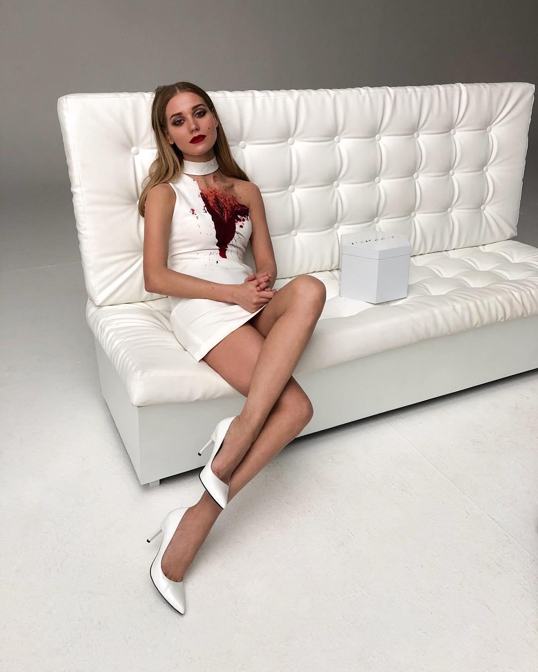 Кристина Асмус призналась, почему не носит короткие платья e9503d35e59