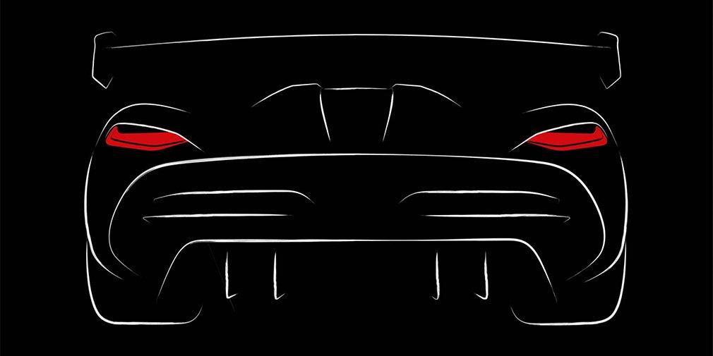 1-ый тизер нового гиперкара Koenigsegg