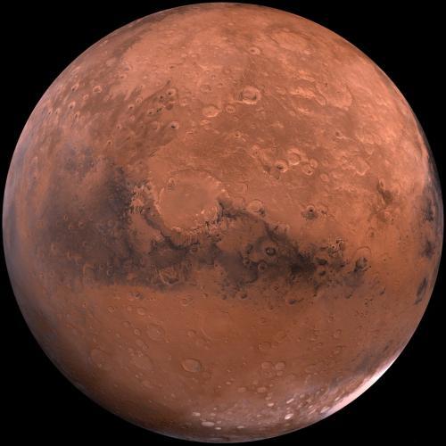 Зонд «ЭкзоМарс-TGO» сделал первые цветные снимки «пыльного льда» на Марсе