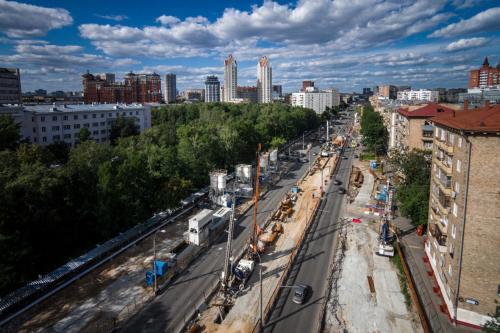 В Москве в конце июня могут открыть участок Северо-Западной хорды