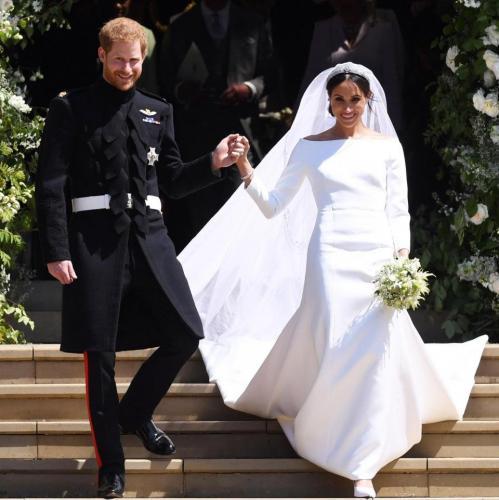 В Лондоне предложат реплики свадебного наряда Меган Маркл