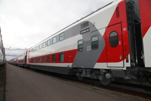 В 2018 году начнут курсировать двухэтажные поезда «Москва-Калининград»