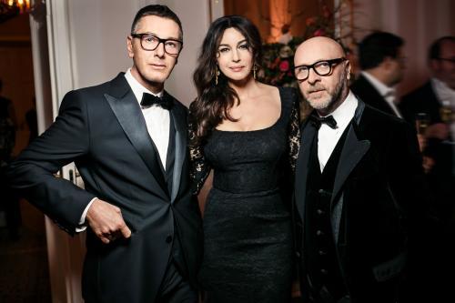 Моника Беллуччи и Наоми Кэмпбелл приняли участие в новом показе Dolce&Gabbana