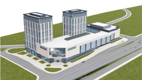 На западе Москвы возведут торгово-офисный комплекс