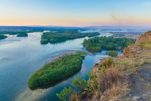 Под Красноярском бизнес-леди арендовала остров на Енисее и развивает туризм