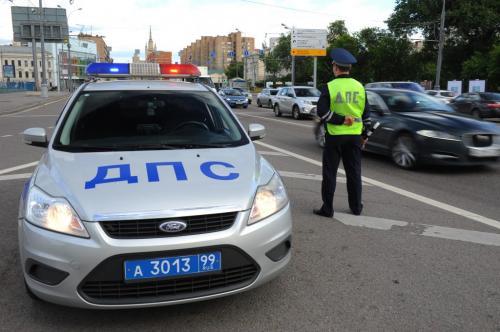 Движение автомобилей в Хамовниках в связи с проведением футбольного матча ограничено