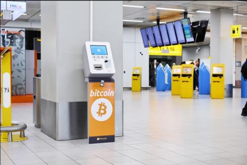 В Амстердаме появился первый банкомат для биткоинов