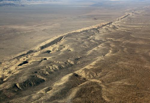 Ученые: Активность разлома Сан-Андреас приведет к катастрофе в Калифорнии