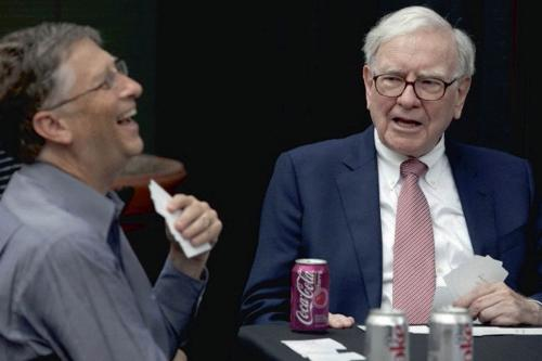 Гейтс и Баффет рассказали, каким был их первый бизнес