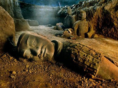 В гробнице китайского императора нашли неизвестное существо