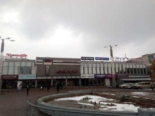 В Красноярске ради новой парковки снесли фонтан