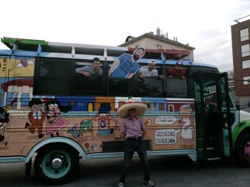 Ростовчане недоумевают от «колоритного» автобуса мексиканских болельщиков
