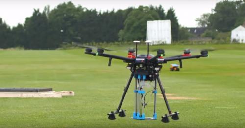 В Британии будут ремонтировать дороги дронами с 3D-принтерами