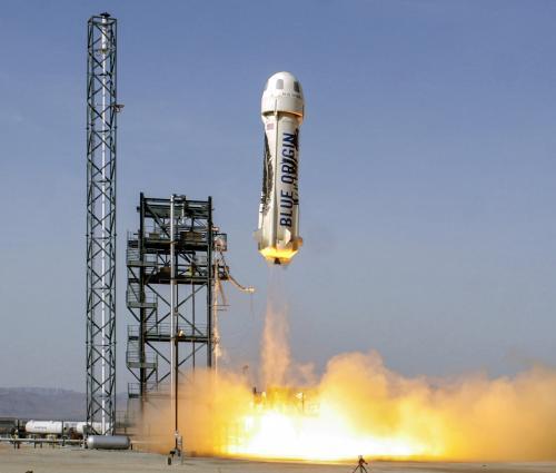 В 2019 году Blue Origin отправит в космос первых туристов