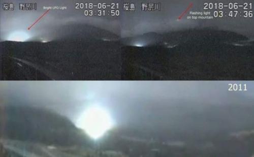 Землетрясению в Японии предшествовало мистическое явление