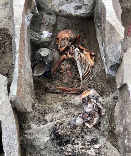 Мумия 2000-летней «спящей красавицы» обнаружена у берегов Енисея