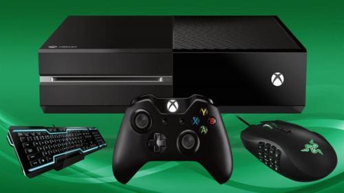 Microsoft интегрирует в Xbox One мыши и клавиатуры Razer