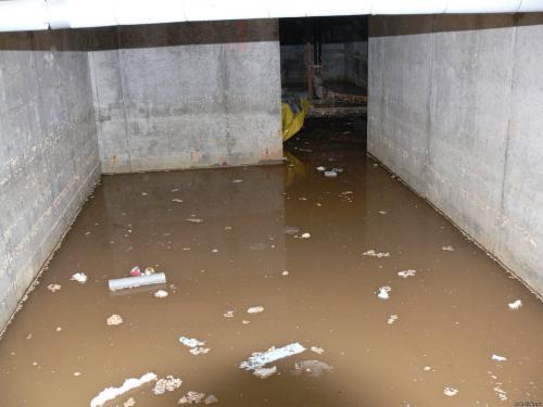 У жителей ярославского многоэтажного дома появился «бассейн»